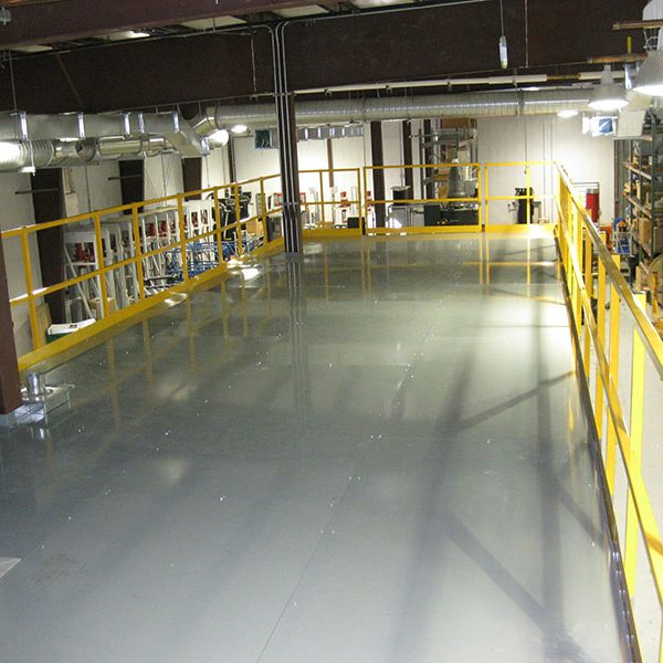 Mezzanines & Work Platforms   Material Handling   Atlantic Installation