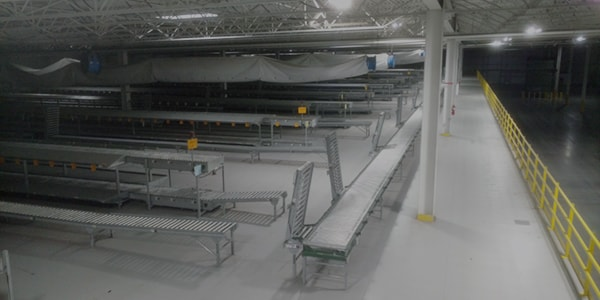 Conveyor Systems | Material Handling | Atlantic Installation