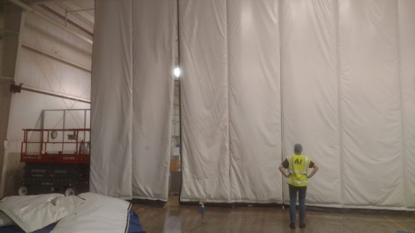 Industrial Curtains | Material Handling | Atlantic Installation