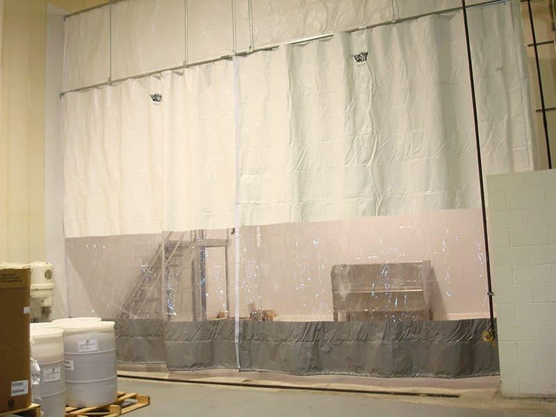 Industrial Curtains | Material Handling | Atlantic Installation