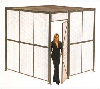 Wire Partitions | Material Handling | Atlantic Installation